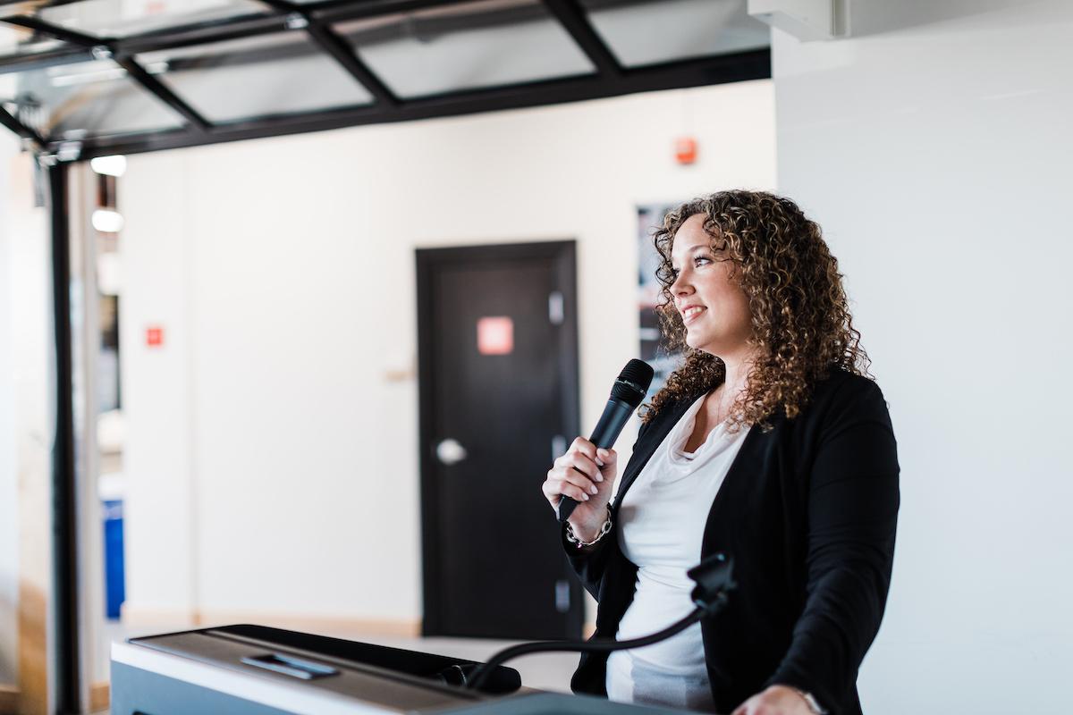 Sarah Coupland Speaking